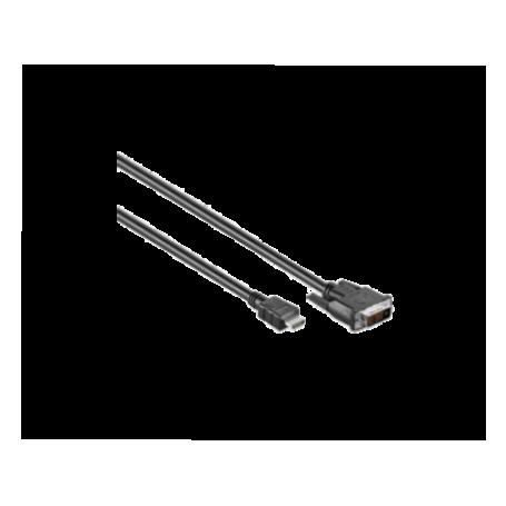 Deltac HDMI -DVI kabel 5.0m