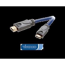 Vivanco - 1.4 High Speed HDMI kabel - 1.5 m